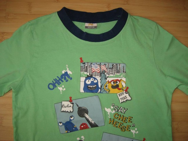 Majica št. 122-128, nenošena, 3 eur