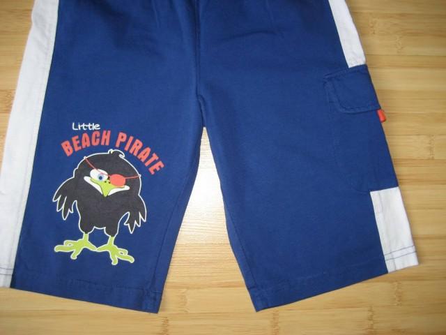 Kratke hlače 122-128, nenošene, bombaž, elastičen pas, 3 eur