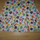 Oblekica Next št. 116 z rožicami, bombaž, lepo ohranjena, 4 eur