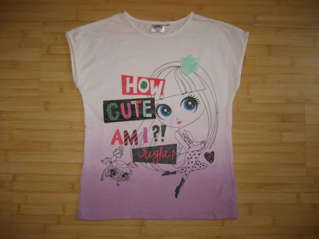 Dekliška majica, nenošena, 3 eur