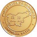 Ministrica Andreja Katič, zlat