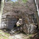 naravni most na desni pred skokom