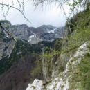 kalški greben v megli