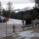 parkinng - planina jezerca