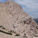 ena grebenska smer - rdeči rob