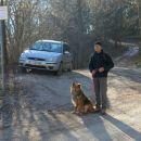 pohlevno čakanje na odhod proti Polh. grmadi