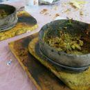 saltah - tradic. enolončnica z zelenjavo v kamniti ali glineni posodi