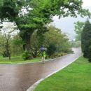 ves dan je deževalo ...
