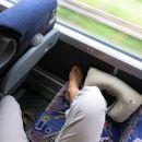 še dobr, da na busu ni gužve ...