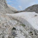 sneg čaka na zimo