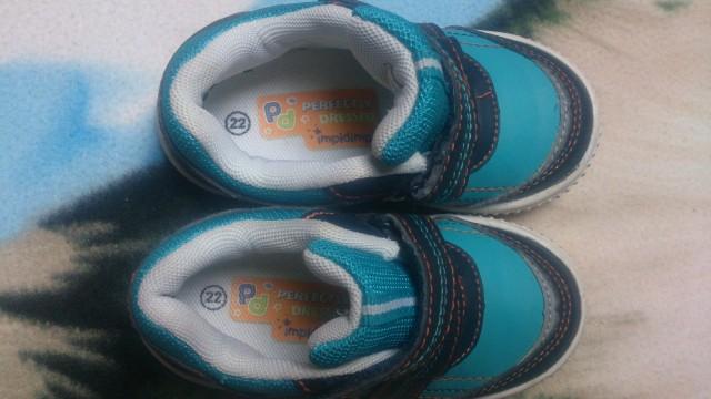 Komplet obutve 22, 2 kom - 4 evre - foto