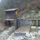 bila je mala elektrarna,zdaj je vodno zajetje