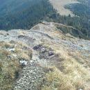 in spust po Froncovi poti na planino Kofce
