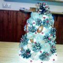 lepi božični šopek v domu,darilo Slavice
