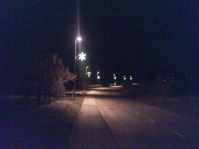 Glavna ulica je okrašena