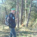 še spust skozi borov gozd