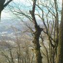 pogled na severno stran gore