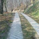 spust v dolino Peklače