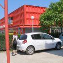 na Binkošti smo šli v Marijo Bistrico,privat parking 21 kun za celi dan!