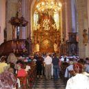 najprej v baziliko