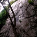 ena izmed plezalnih smeri