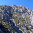 pogled na vrh s Škarjevega roba