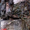 Marija v kamnu ob poti na goro