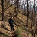 po lepi poti počasi v dolino