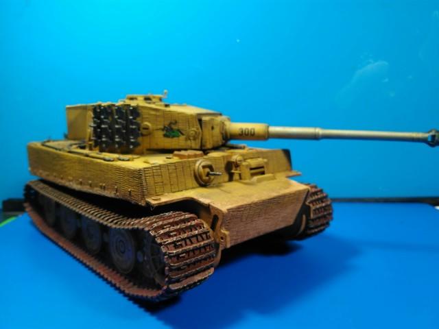 Tiger I Italeri 1:35 - foto