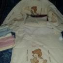 Posteljni komplet za novorojenčka
