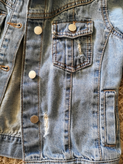 Jeans jaknica next, st. 128 - foto