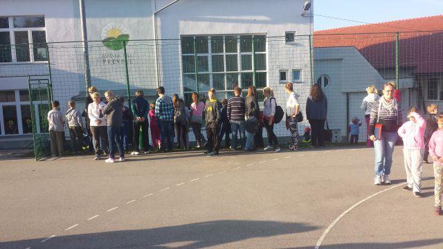 Evakuacija 18.10.2014 - foto