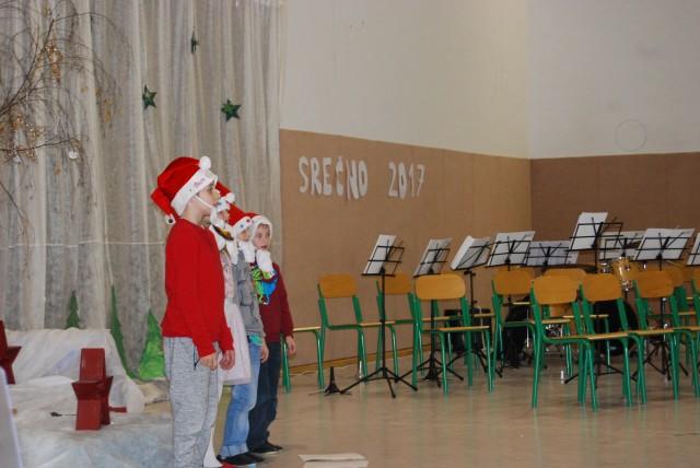 Dedek Mraz in novoletna proslava - foto