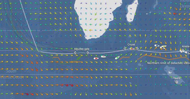 VendeeGlobe20121211 10 UTC