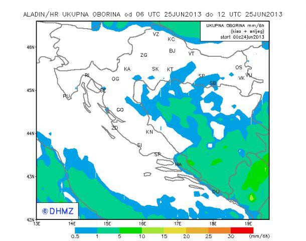 20130625 Aladin HDMZ padavine za 06-12 (UTC)