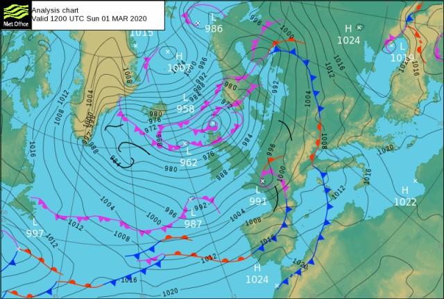Forecast Valid 20200301 1200  UTC