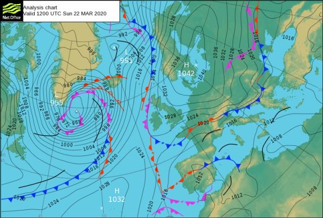 Forecast Valid 20200322 1200 UTC