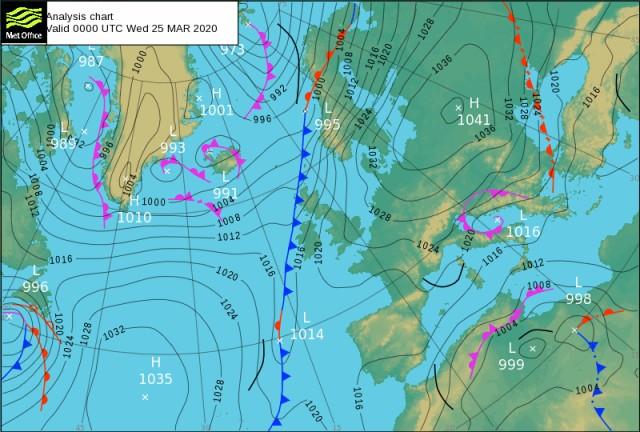 Forecast Valid 20200325 1200 UTC