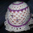 klobuček,pokrivalo unikatne izdelave novo!
