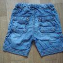 Jeans kratke hlače Zara 86 - zadaj