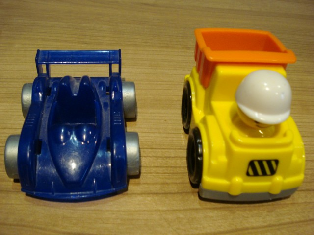 Rumeni tovornjak - 1€
