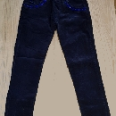 Žametne hlače 134-140 - 5€