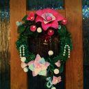 adventni venček za na vrata