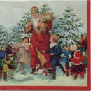 servetki - božično-novoletni
