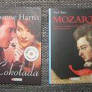 knjiga Čokolada in knjiga Mozart: 3,50 €/komad