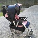 voziček Chicco - roza-moder