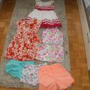 poletna oblačila za deklico 7 let