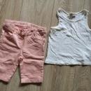 Kratke hlače in majica 98-104, 6€
