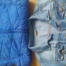 jeans jakna Zara, prehodna bundica Gap