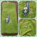 Mala vezena brisačka